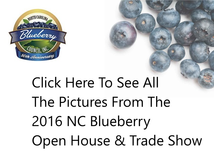 See All Picutures 2016 Blueberry Open House & Trade Show